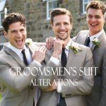 Groomsmen's Suit Alterations