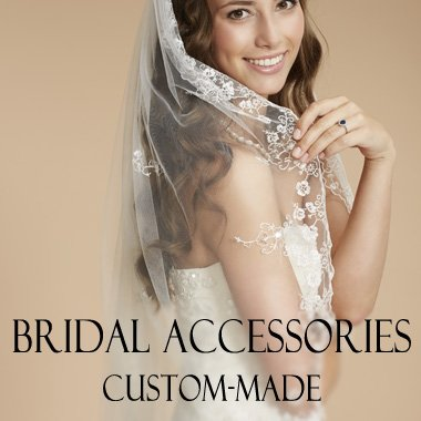 bridal accessories custom-made