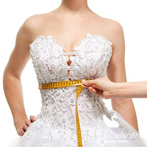 Wedding Dress Alteration Process